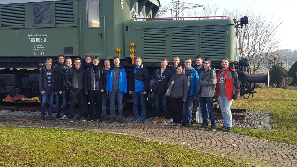 Gruppenbild der Teilnehmenden an der GKN-Exkursion
